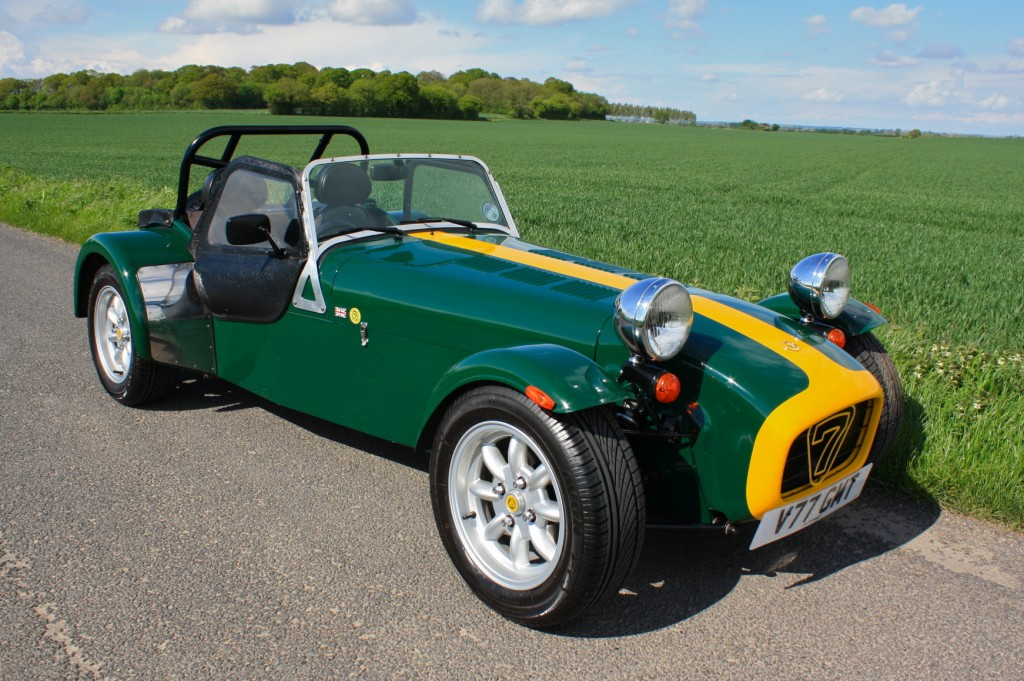 1995 Caterham Super 7 #12