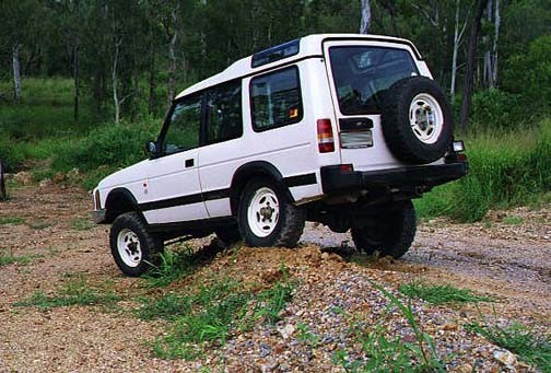 1994 Land Rover Discovery #9