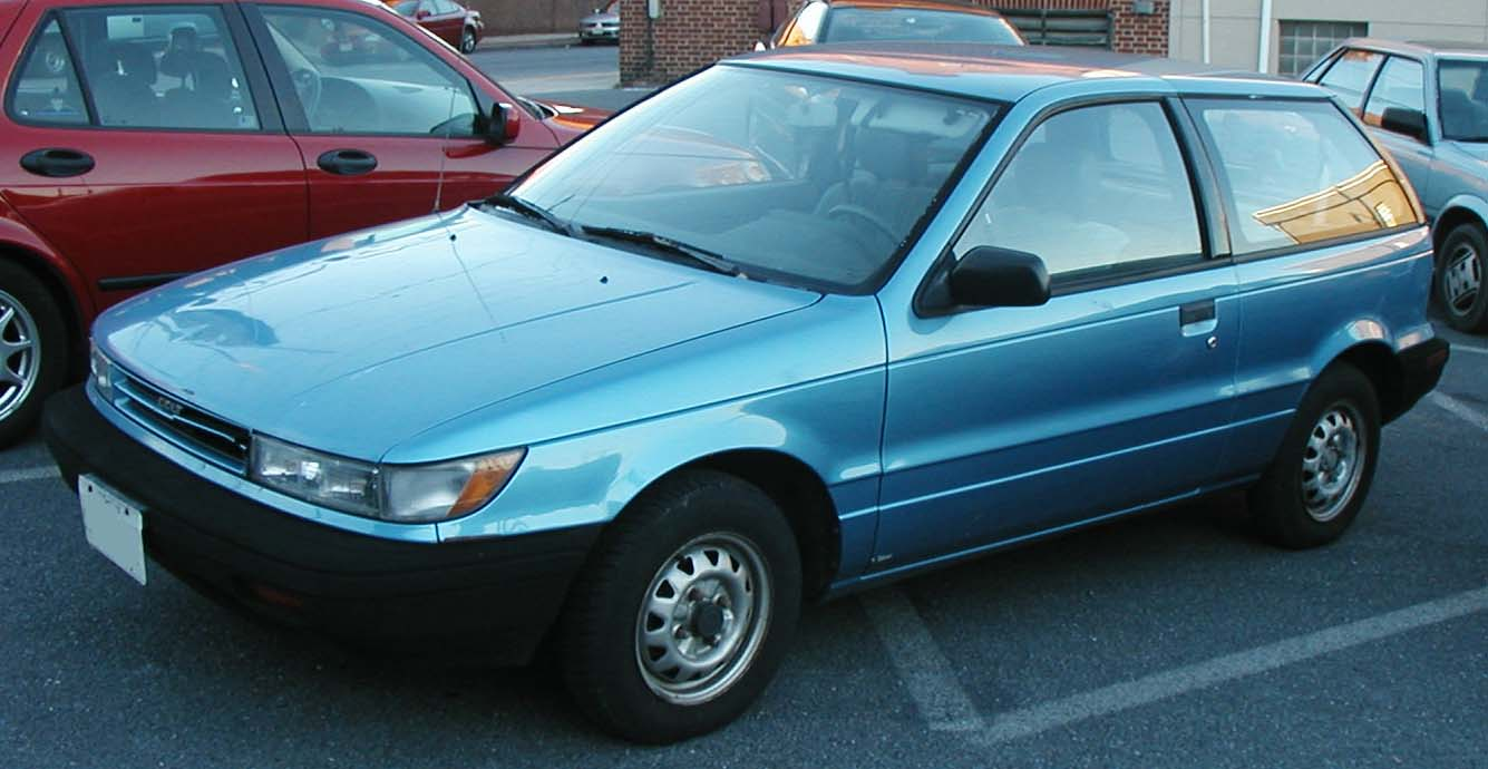 1994 Plymouth Colt #10