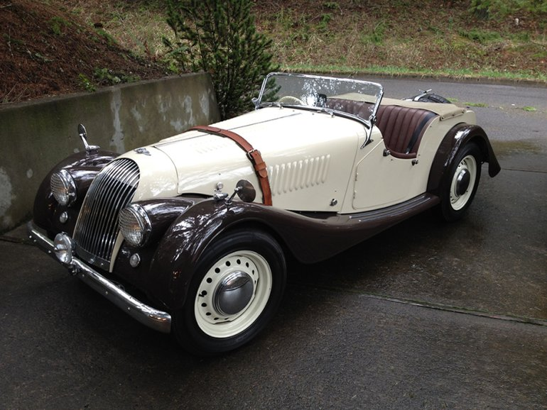 1955 Morgan Plus 4 #17
