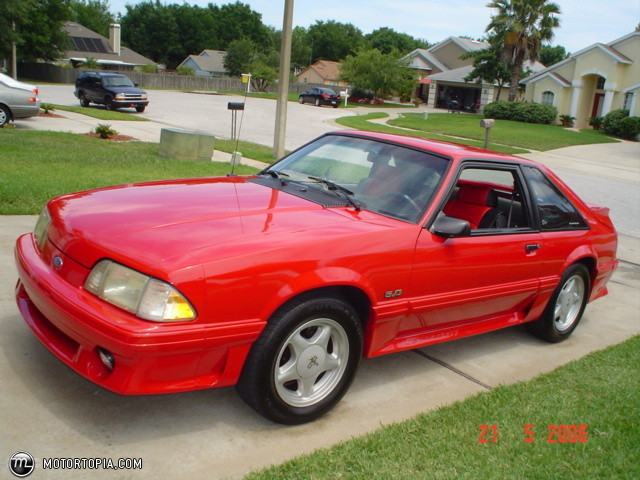 1992 Ford Mustang #14