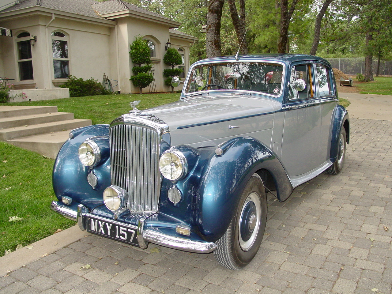 1952 Bentley Mark VI #13