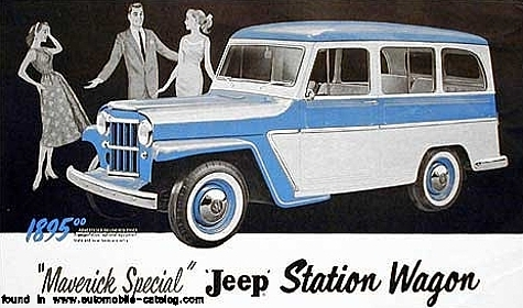 1946 Jeep Station Wagon #6