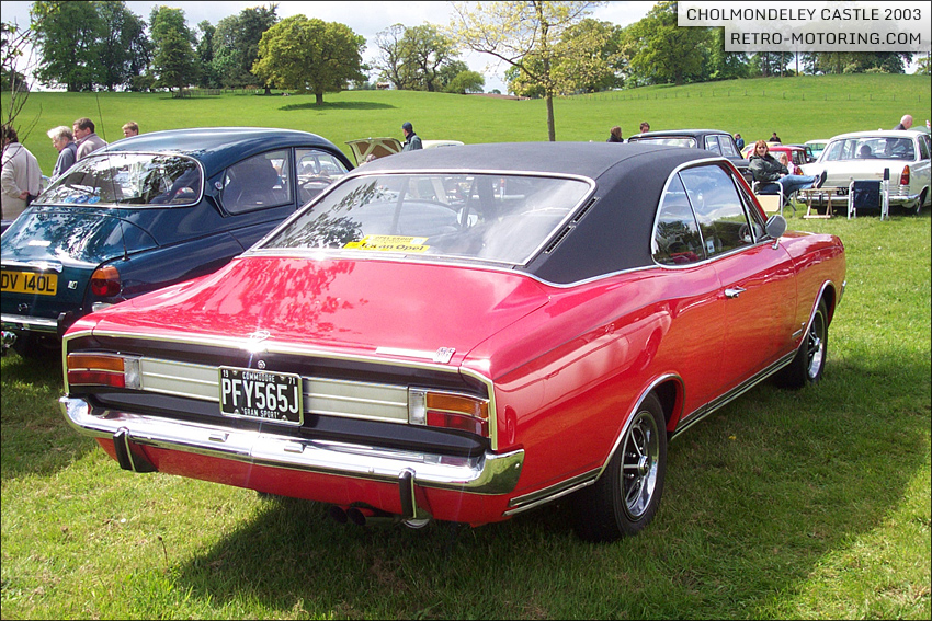 1971 Opel Commodore #4
