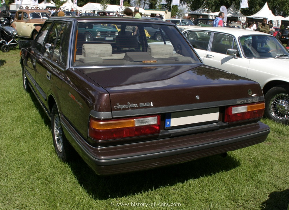 1984 Toyota Crown #9