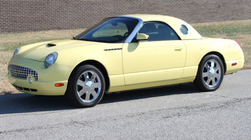 2002 Ford Thunderbird #9