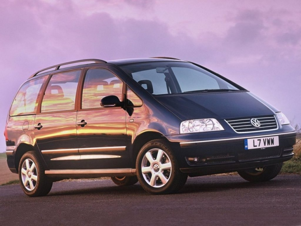 2003 volkswagen sharan photos informations articles. Black Bedroom Furniture Sets. Home Design Ideas