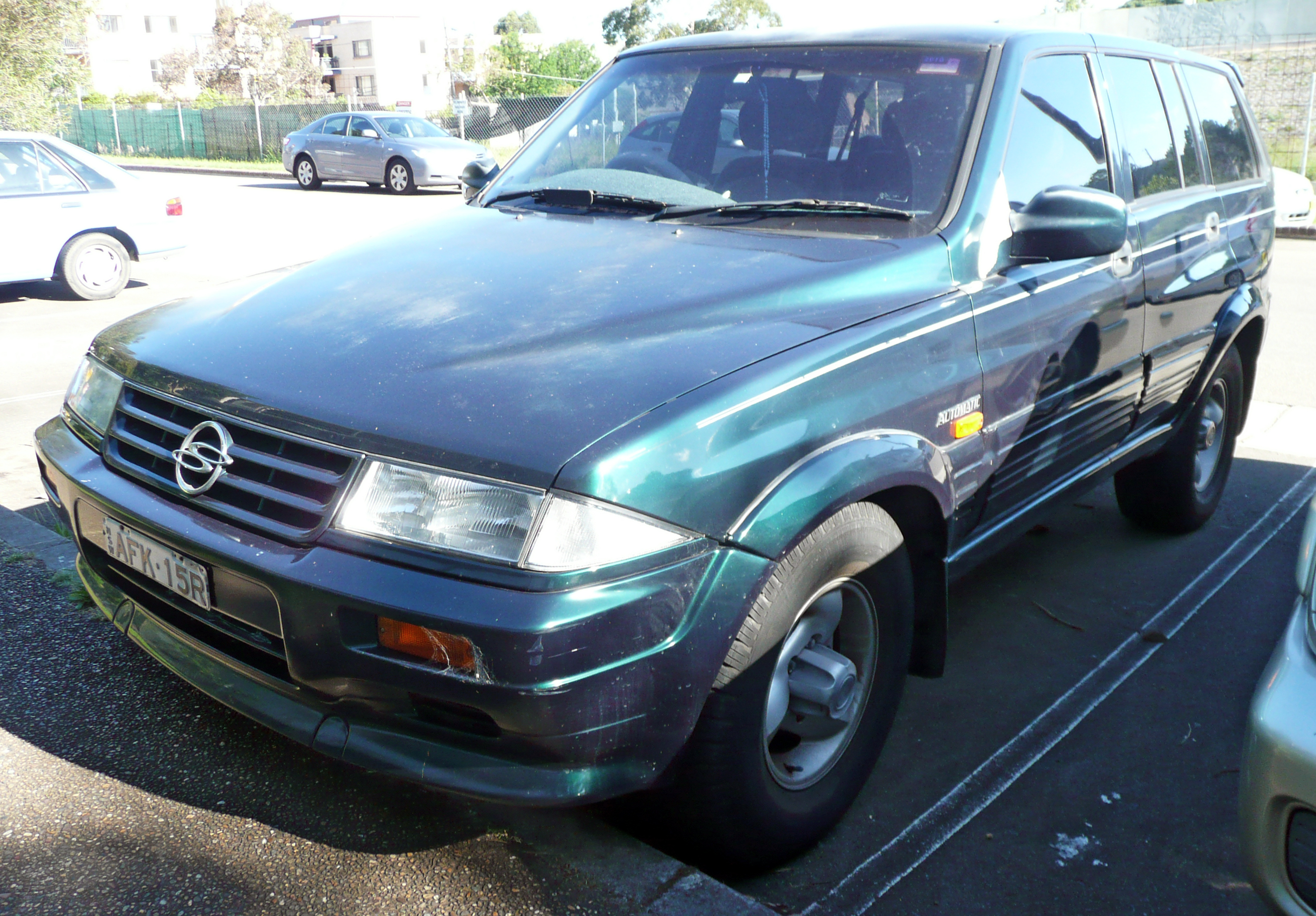 1997 Ssangyong Musso #2