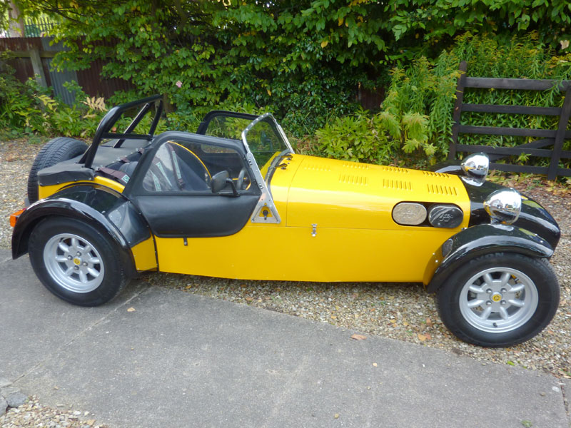 1991 Caterham Super 7 #12