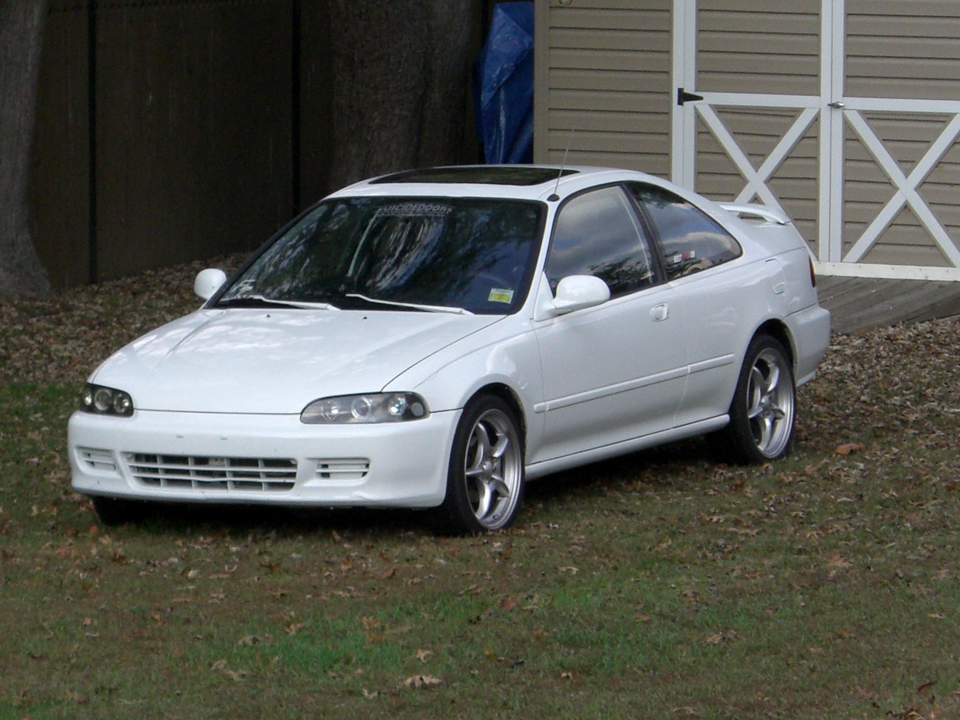 1995 Honda Civic #9