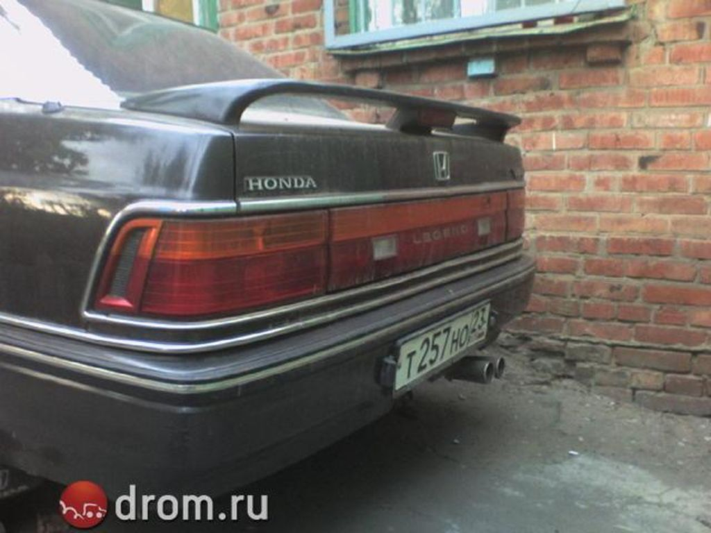 1989 Honda Legend #16