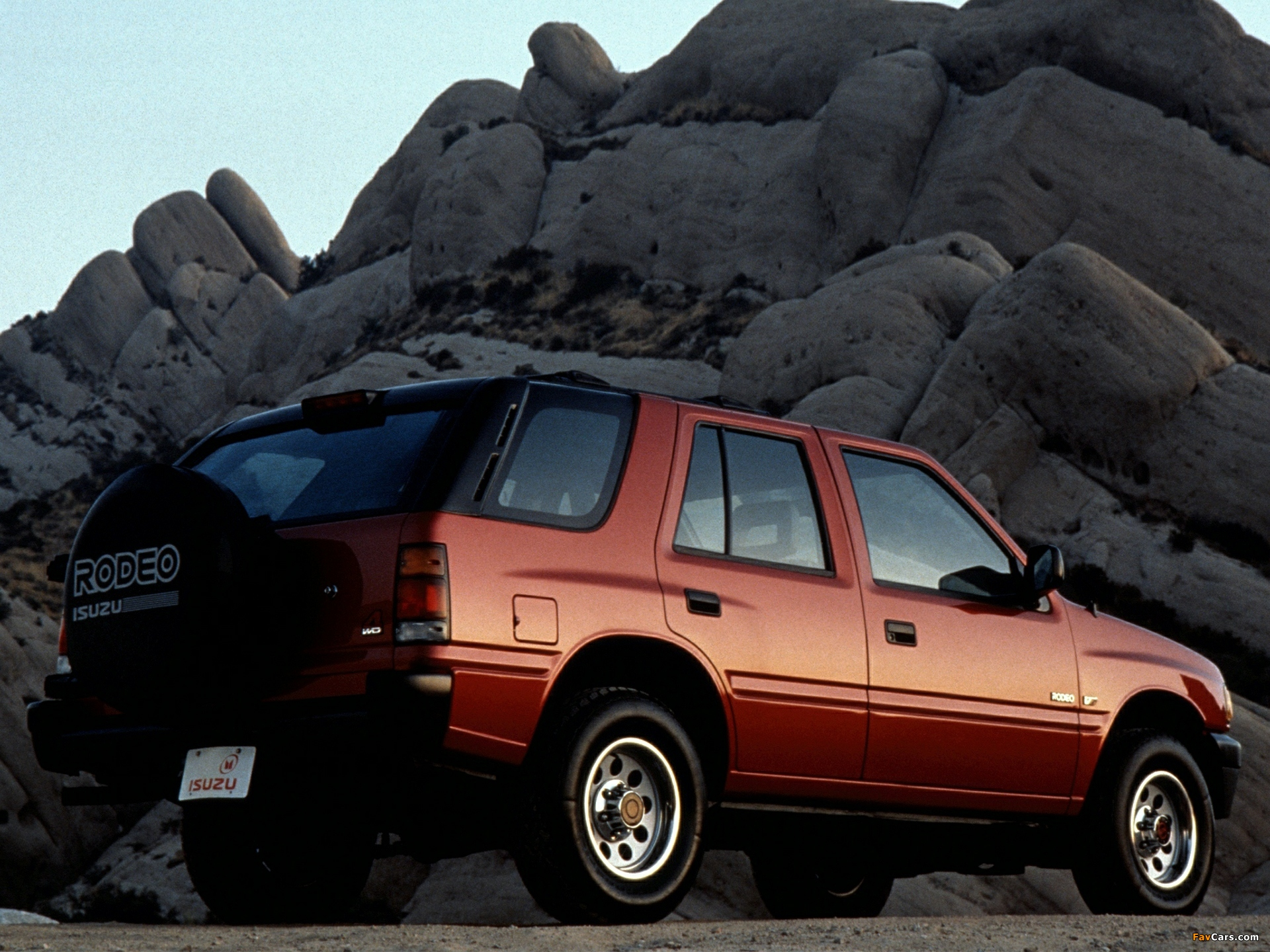 1993 Isuzu Rodeo #11