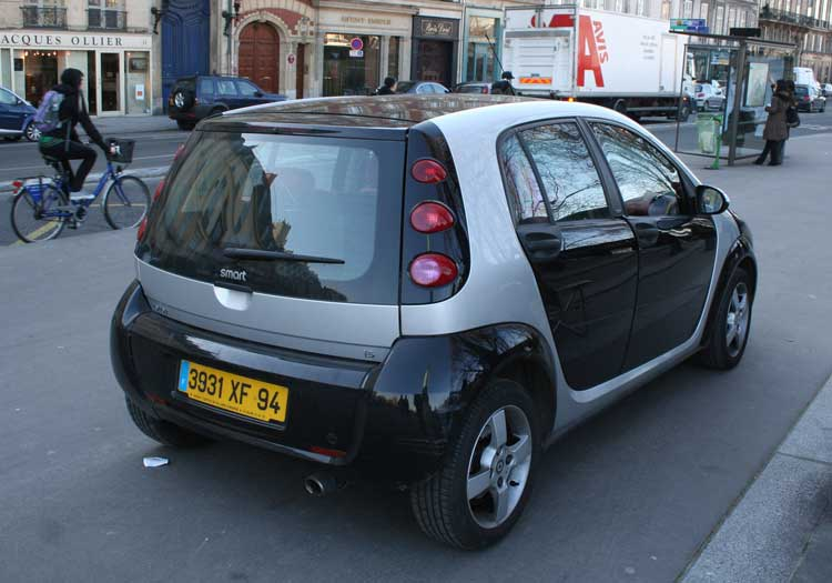 2001 Smart ForFour #9