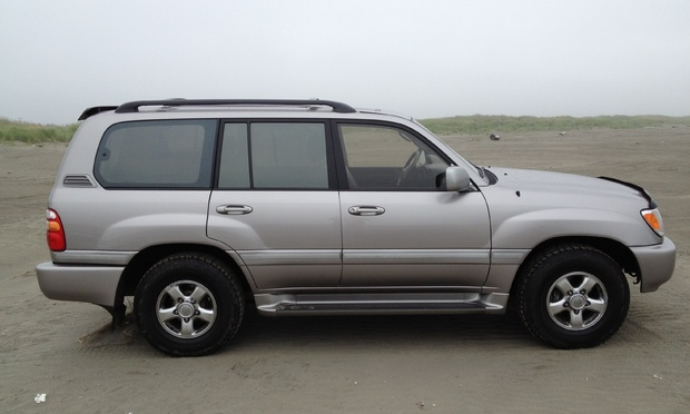 2002 Toyota Land Cruiser #12