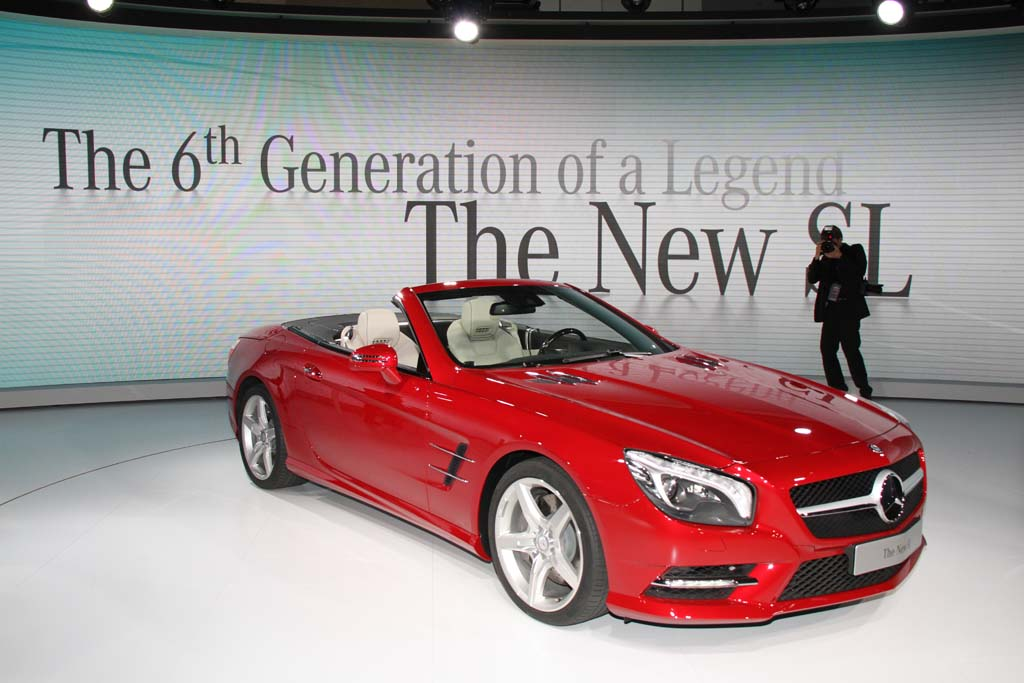 2013 Mercedes-Benz SL #9