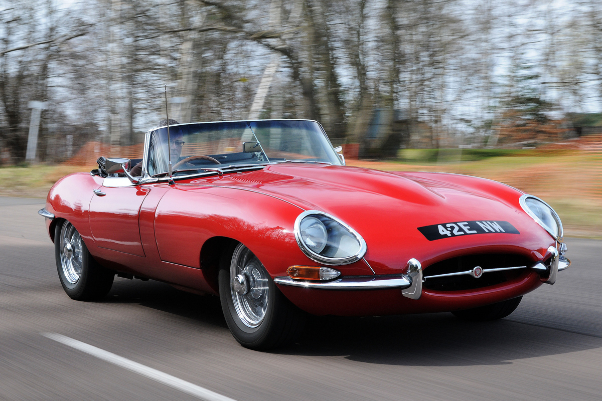 Jaguar E-Type #14
