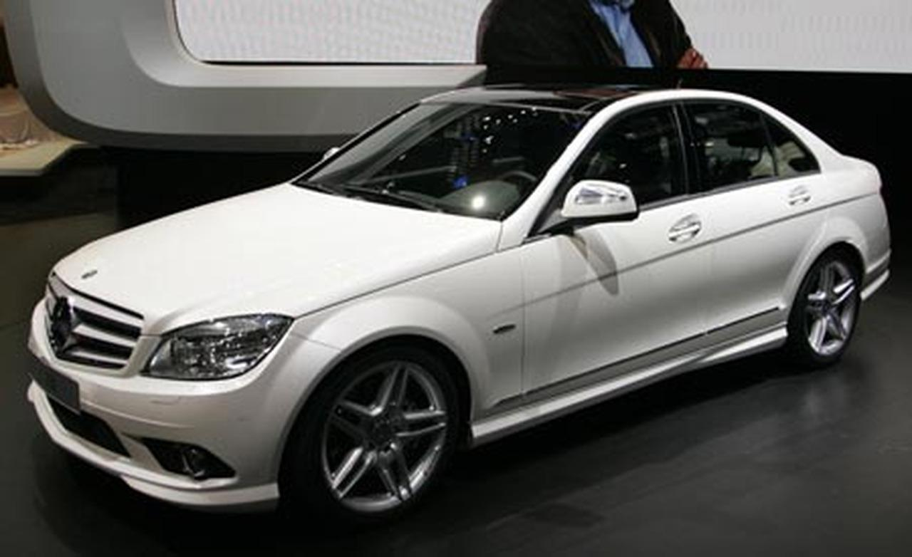 2008 mercedes benz c class photos informations articles. Black Bedroom Furniture Sets. Home Design Ideas