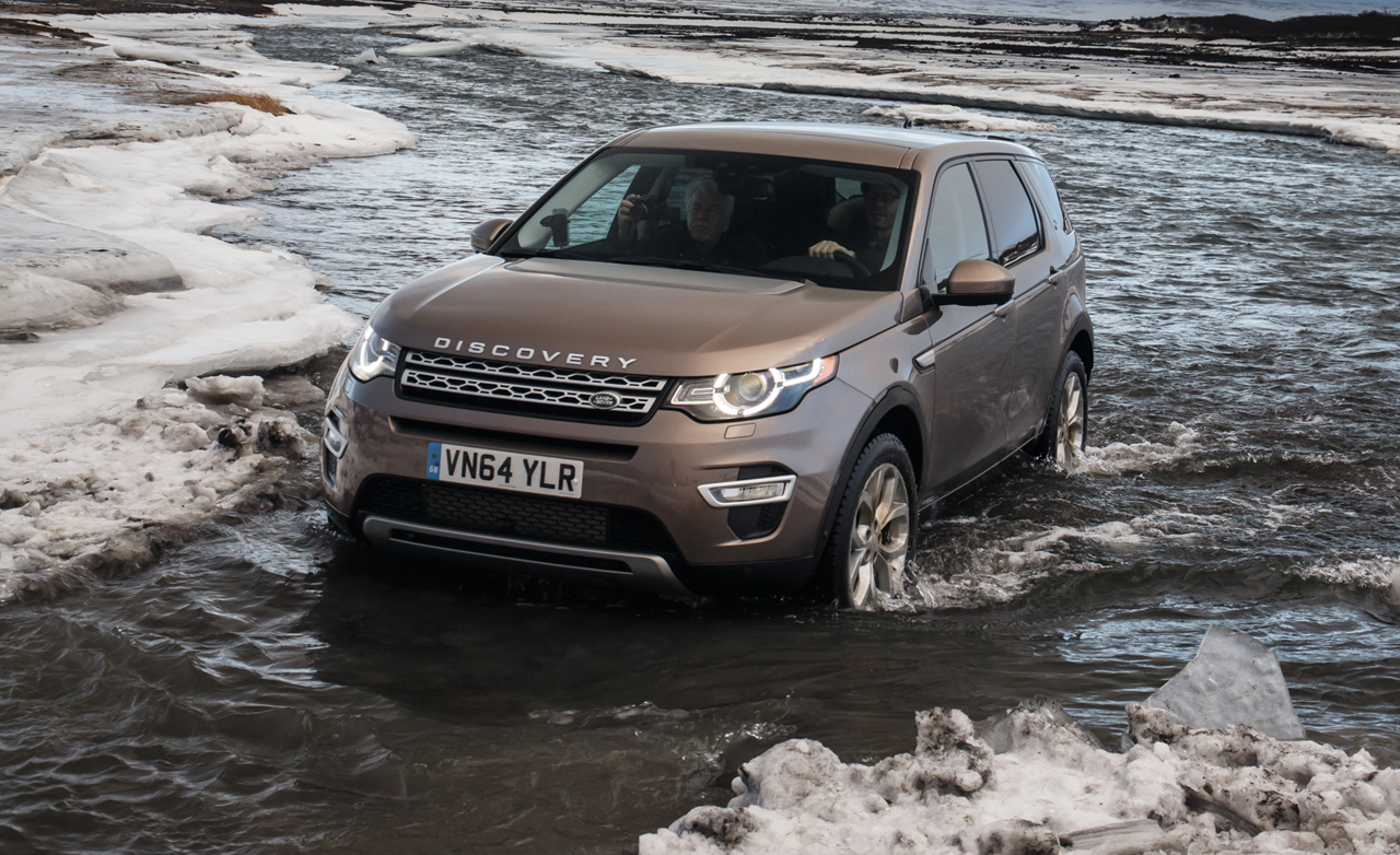 2015 Land Rover Discovery Sport #4