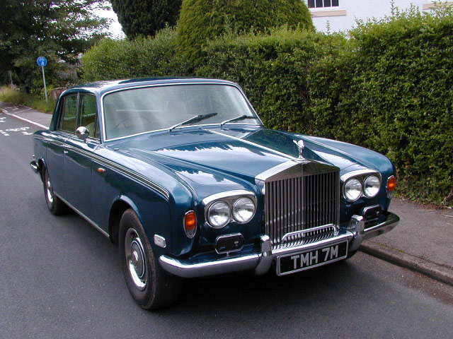 1973 Rolls royce Silver Shadow #5
