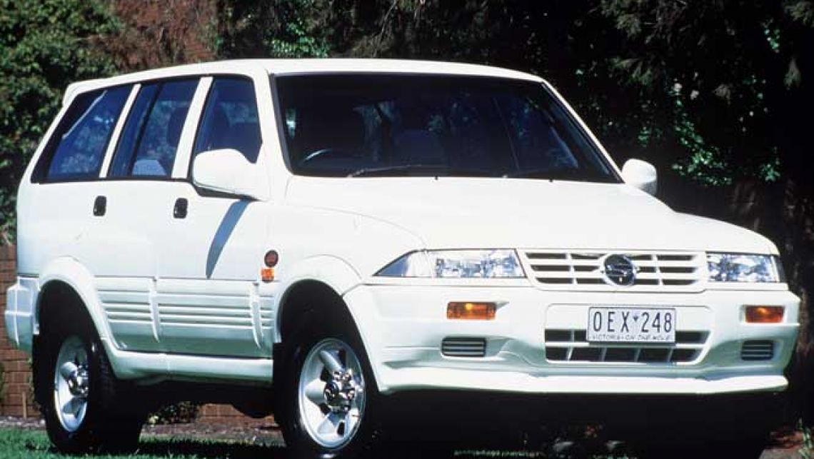 1998 Ssangyong Musso #7