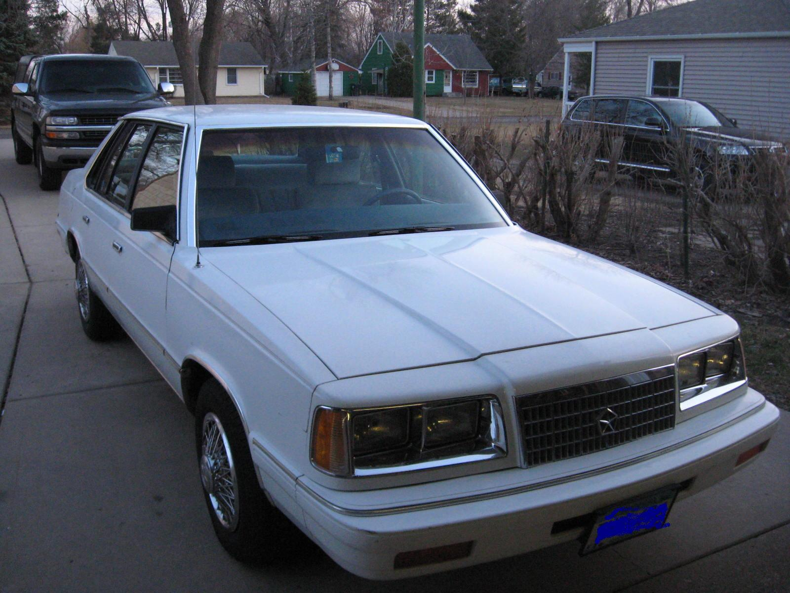 1987 Plymouth Caravelle #6