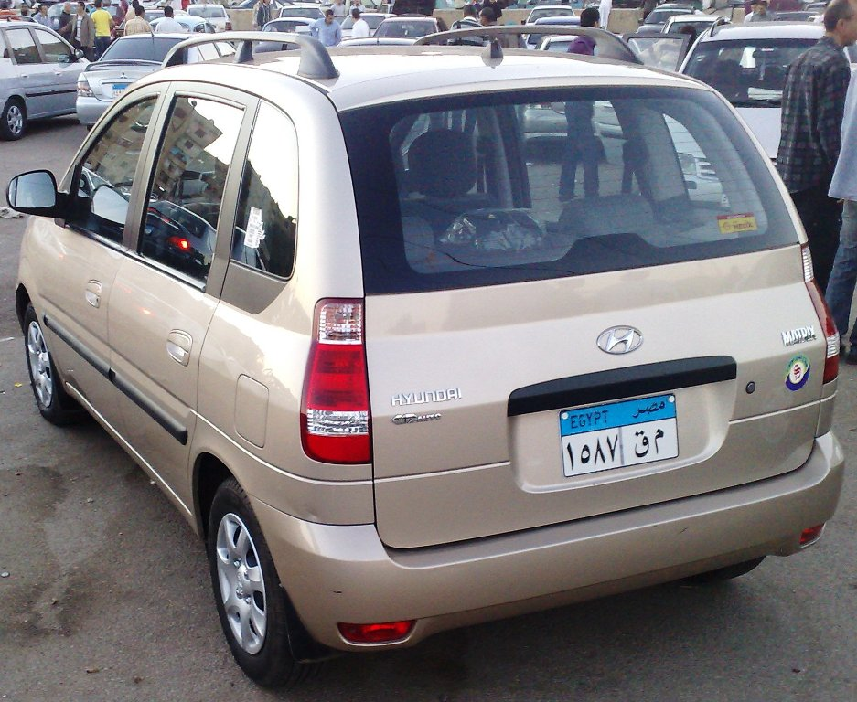 2007 Hyundai Matrix #9