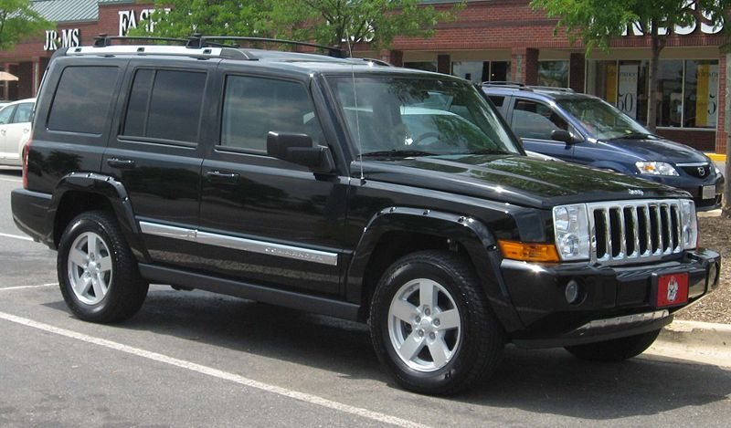 2008 Jeep Commander #6