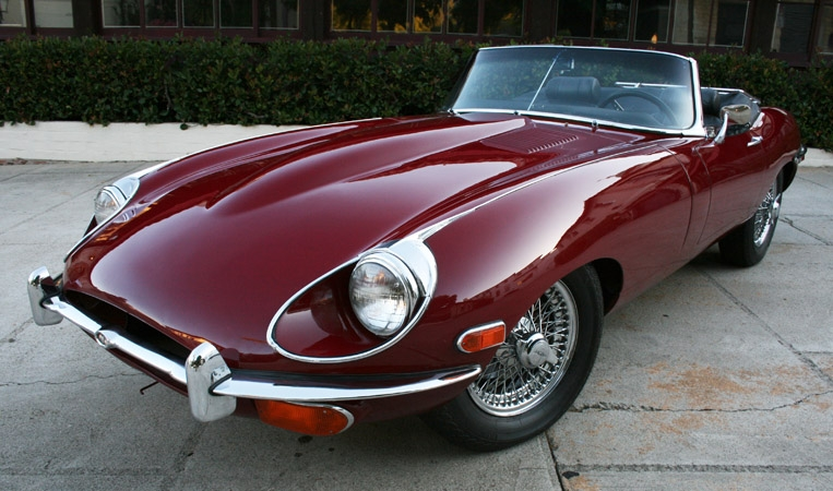 1969 Jaguar E-Type #2