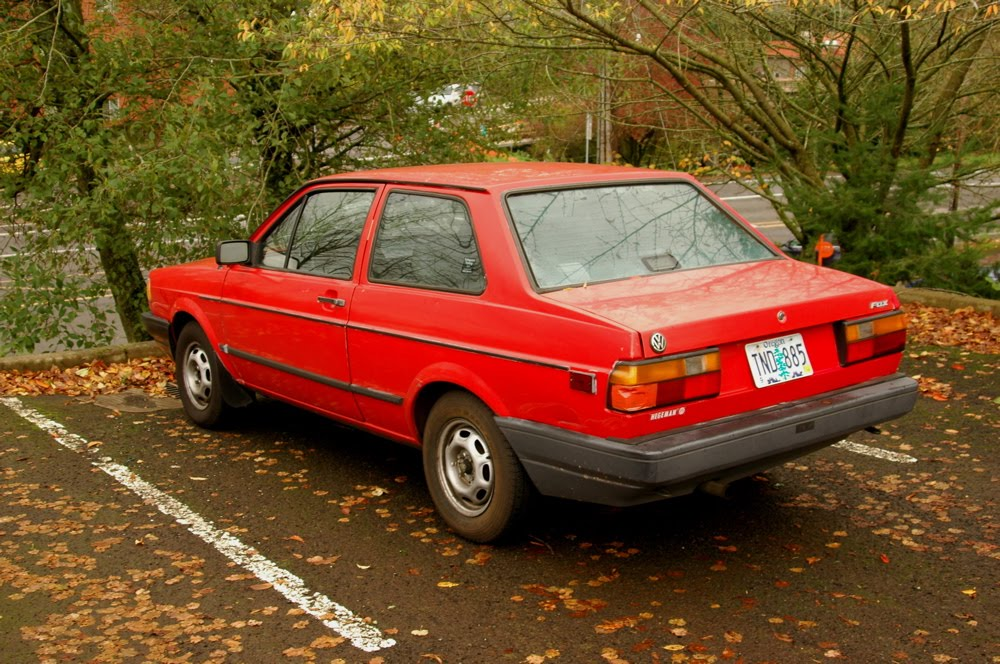 1991 Volkswagen Fox #3