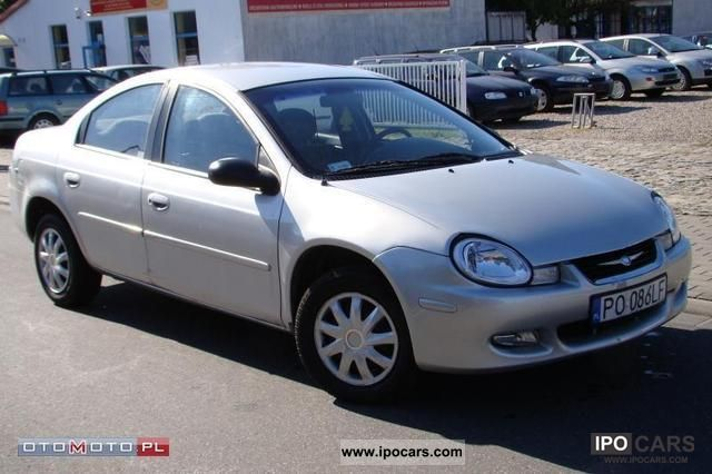 2000 Chrysler Neon #8