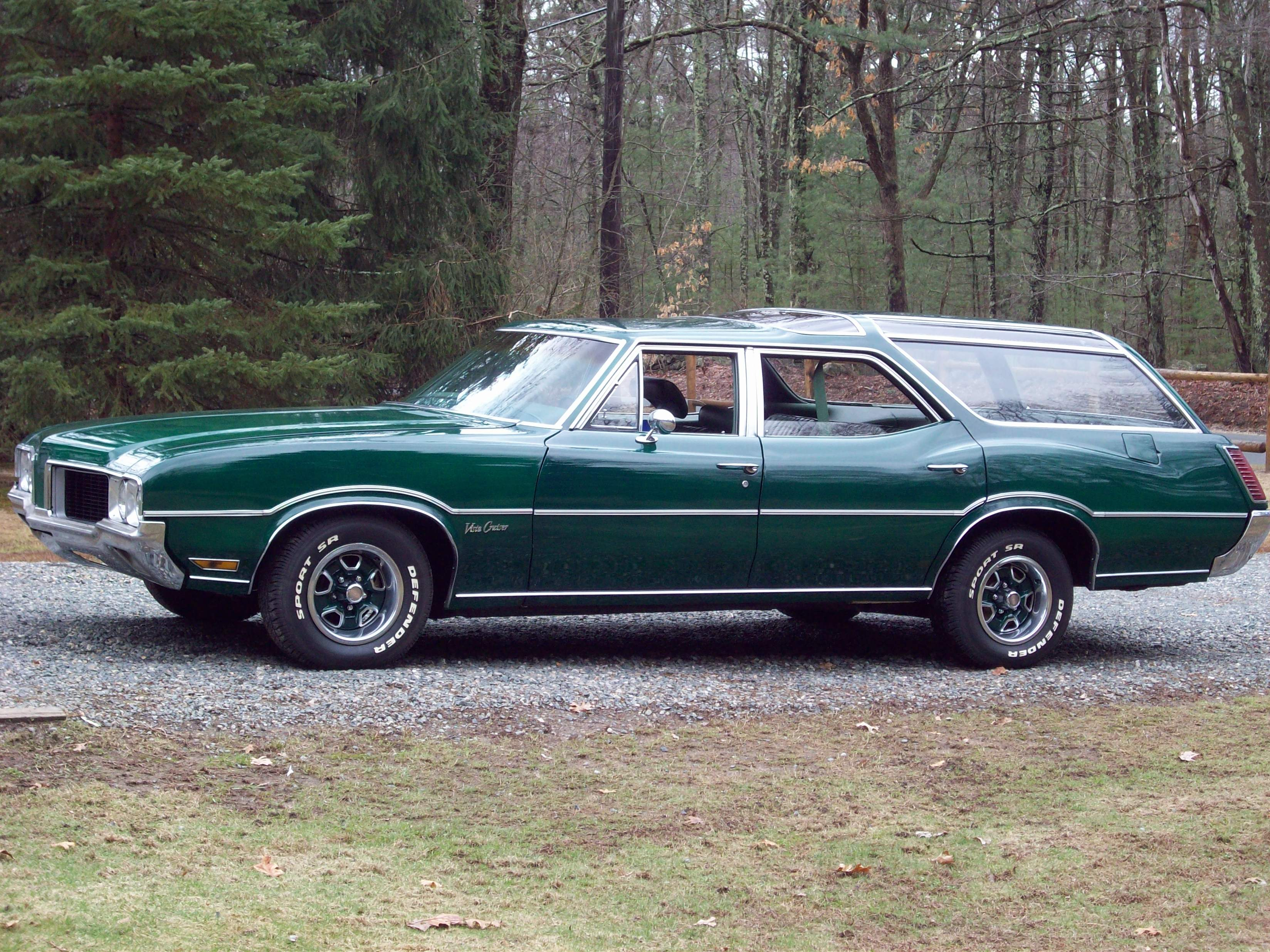 1972 Oldsmobile Vista Cruiser #14