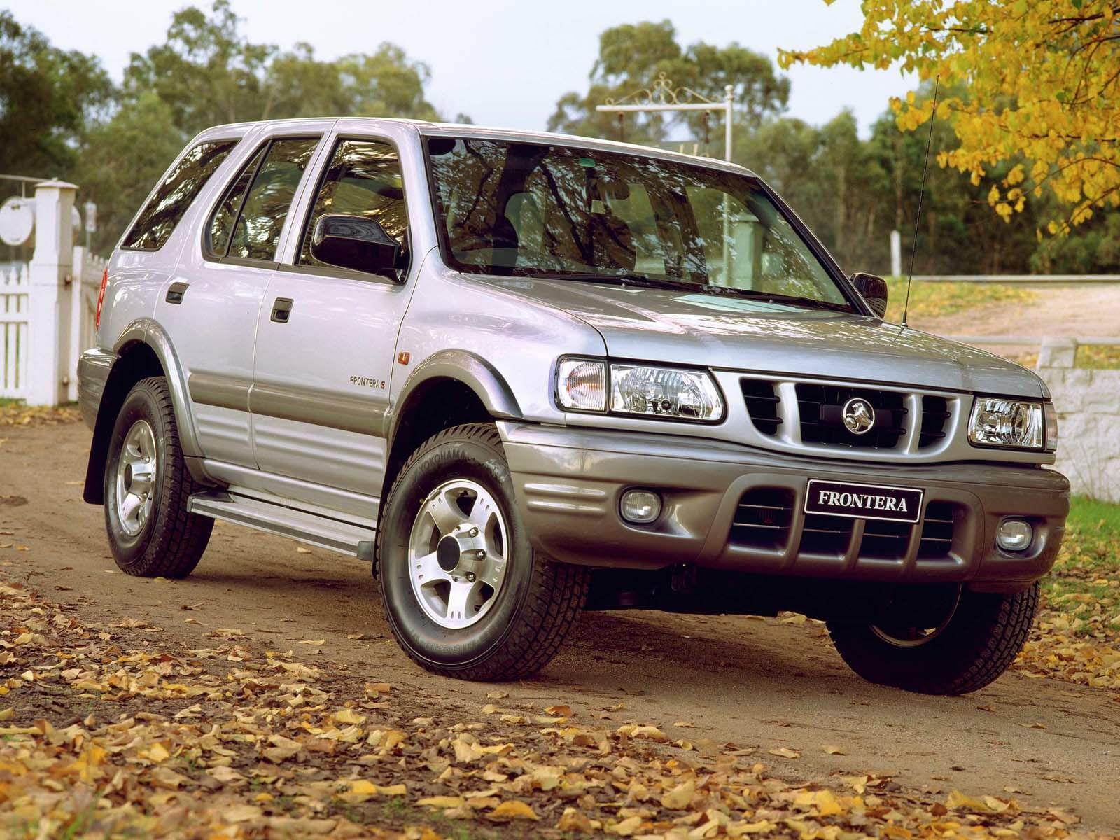 Holden Frontera Photos Informations Articles