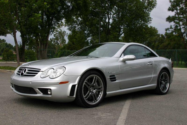 2005 Mercedes-Benz SL #7