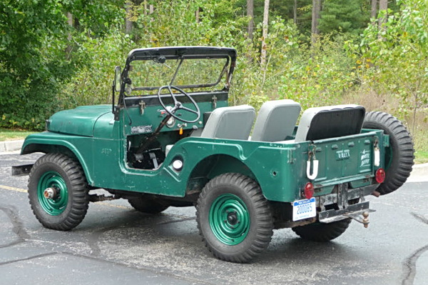 1963 Jeep CJ5 Photos Informations Articles