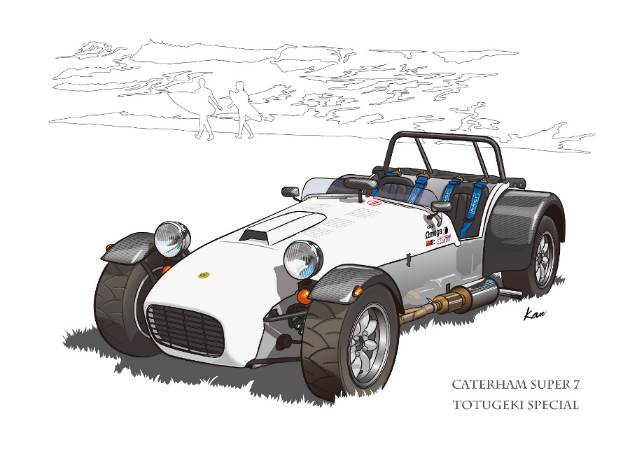 1991 Caterham Super 7 #15