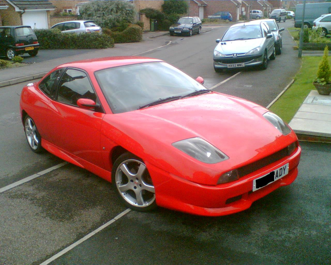1996 Fiat Coupe #3