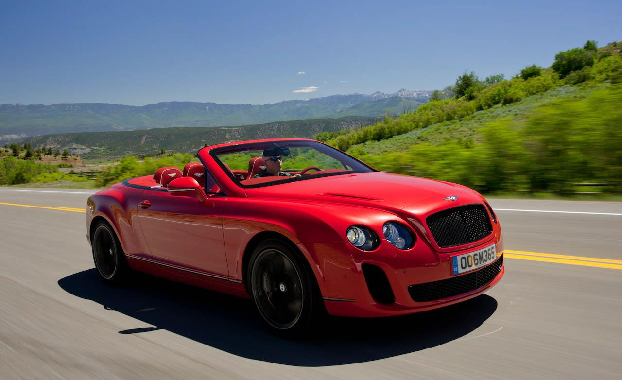 2011 Bentley Continental Supersports Convertible #8