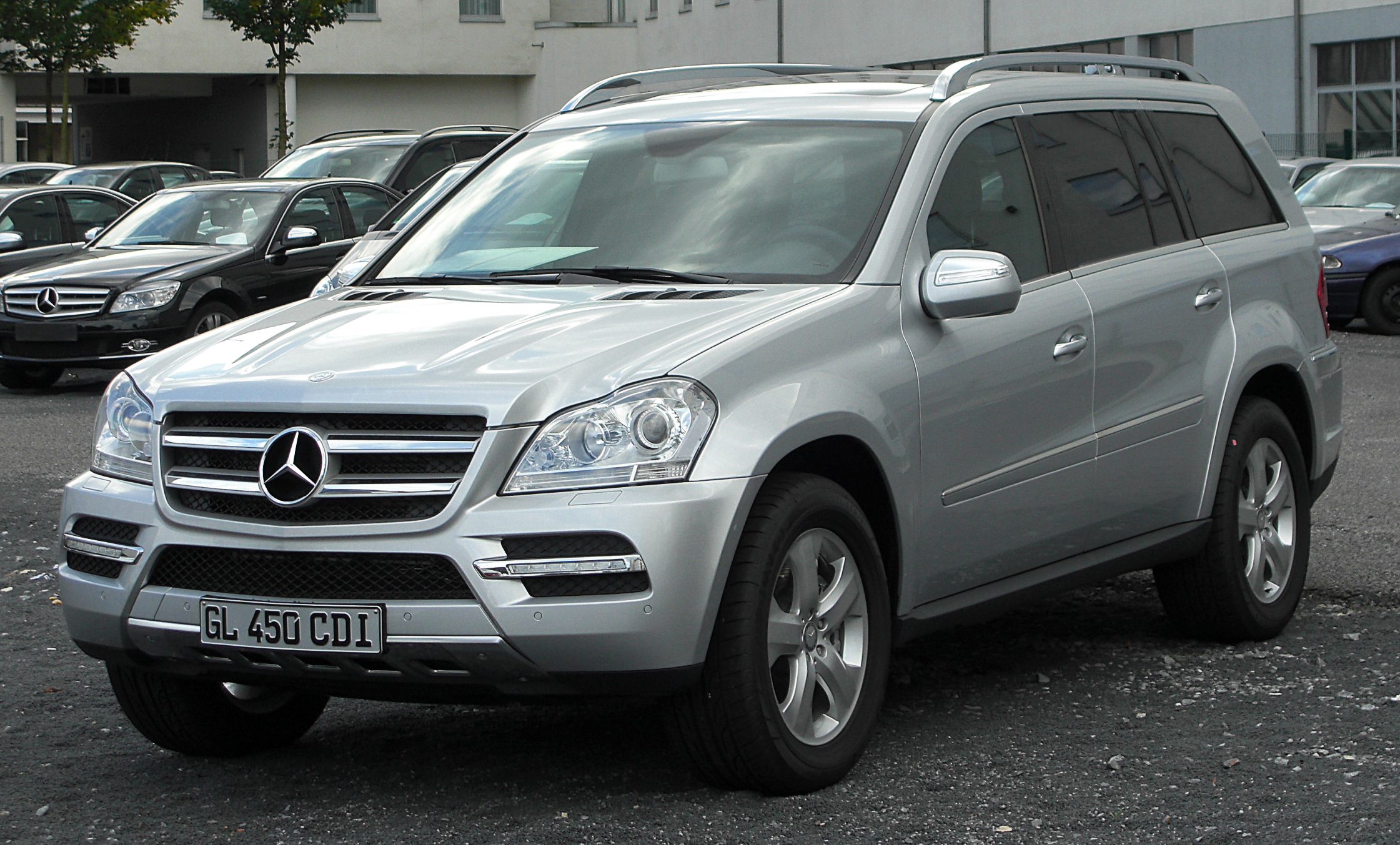 2008 Mercedes-Benz GL #9