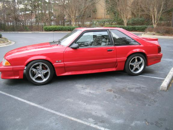 1991 Ford Mustang #14