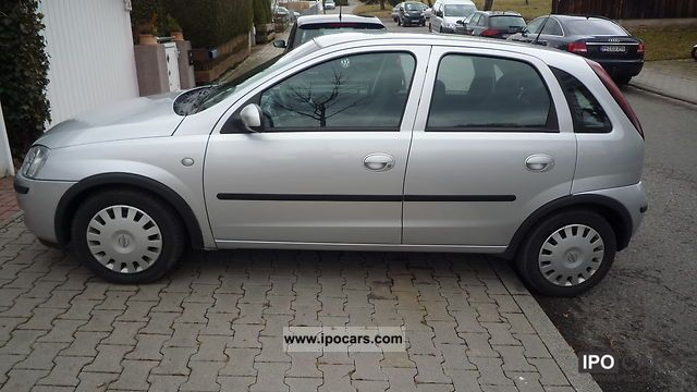 2004 opel corsa photos informations articles. Black Bedroom Furniture Sets. Home Design Ideas