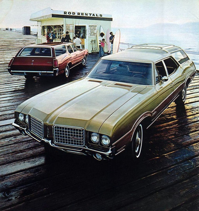 1972 Oldsmobile Vista Cruiser #17