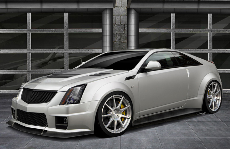 Cadillac Cts-v Coupe #7