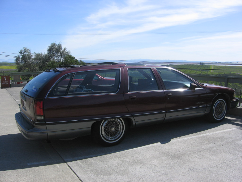 Oldsmobile Custom Cruiser #12