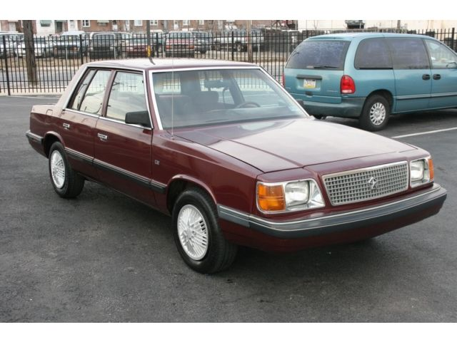 1988 Plymouth Reliant #5