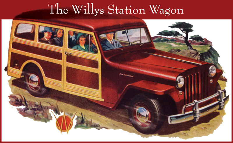 1946 Jeep Station Wagon #3