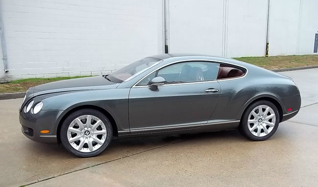 2004 Bentley Continental Gt #9