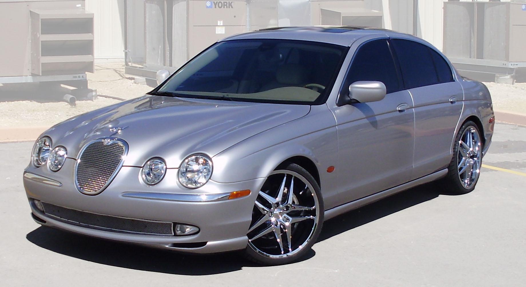 2001 Jaguar S-type #6