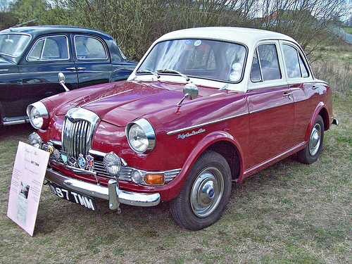 1959 Riley One-Point-Five #9