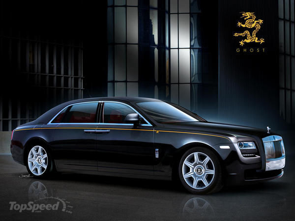 2012 Rolls royce Ghost #2
