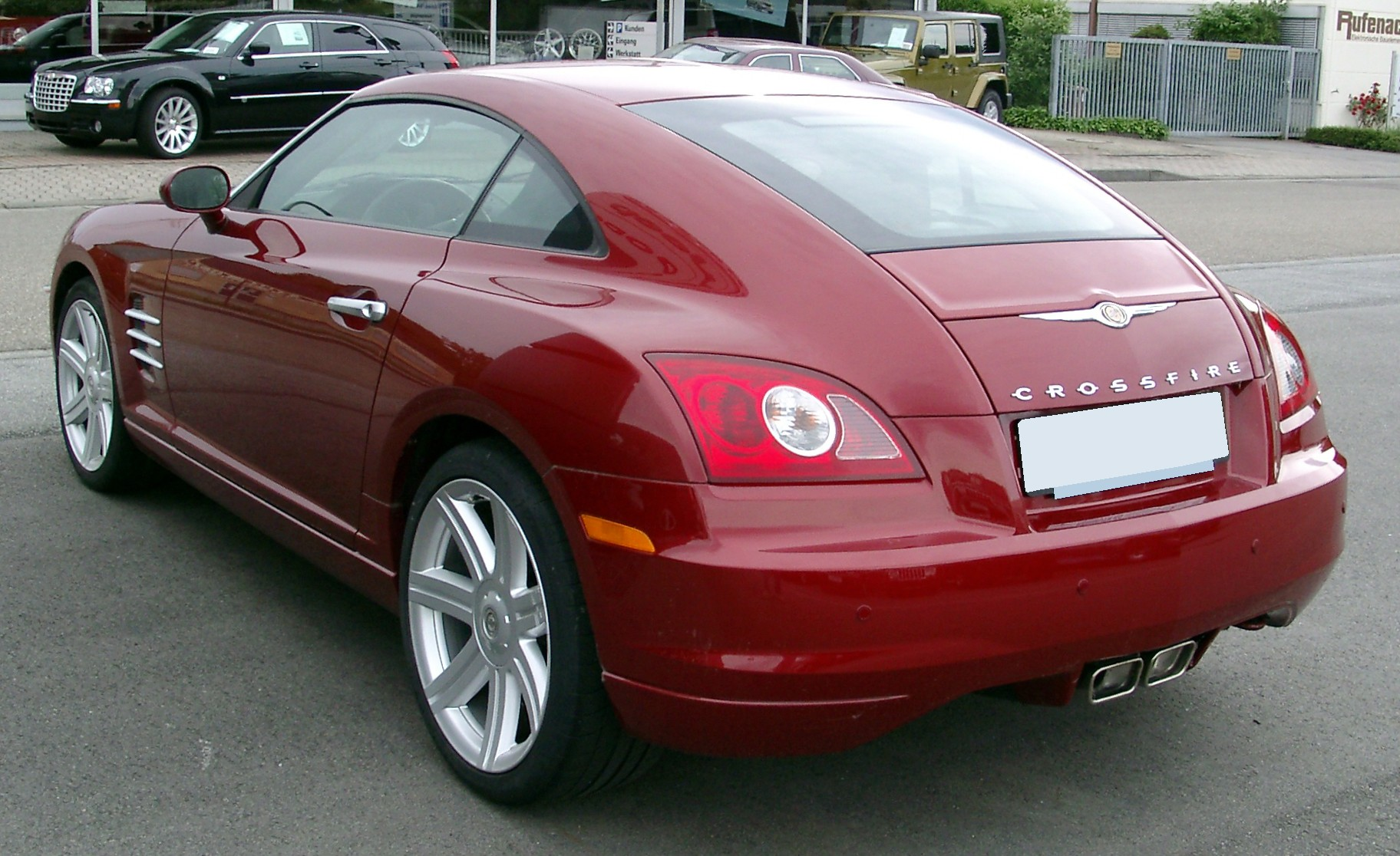 2008 Chrysler Crossfire #15